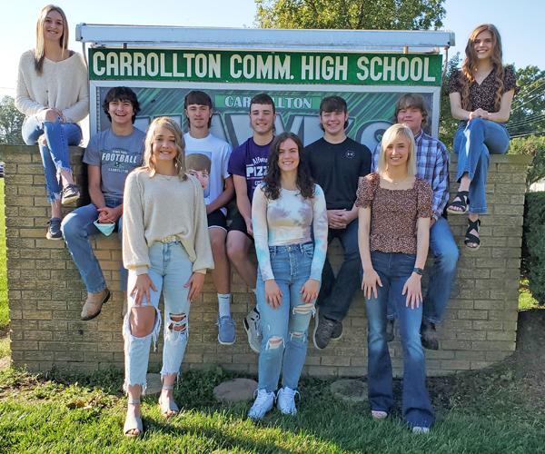 Carrollton Homecoming Court